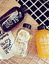 500ml bouteille en plastique sports espace bouteilles d\'eau de jus de citron fruits drinkware (pas de sac)