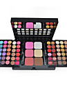 Make-up For You® 78 Color Eye Shadow + Blush Shimmer/Dry/Mineral Powder Professional Halloween Party makeup/Smokey makeup Makeup Palettes