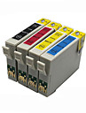 bloom®t0711-T0714 cartouche d\'encre compatible pour epson D78 / D92 / D120 / DX4000 / DX4050 / DX5000 / DX8400 pleine encre (4 couleurs 1 jeu)