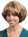 qualite superieure couleur mixte perruques synthetiques frisees moyennes synthetiques