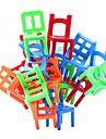 stapla stolar balans spel kontor pussel pedagogisk leksak flerfärgade (18st)