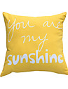 Polyester Coussin avec rembourrage,Texte Casual
