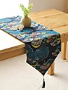 japanskt mönster löpare mode Hotsale hög kvalitet bomull linne bords deco