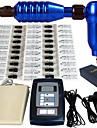 Kit de tatouage machine 1pro 50 aiguilles alimentation pedale pedale pied pedale set m666kit-3