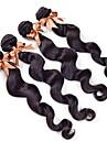 """10-30 """"cheveux vierges malaysian 3pcs vague lache humaines extensions de tissage de cheveux 7a produits capillaires queen boucles rosa"""