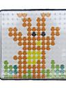 1st mall klart pegboard 7,5 * 7,5 cm kvadrat för 5mm Hama Pärlor Perler pärlor säkrings pärlor