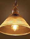 Lampe suspendue ,  Retro Autres Fonctionnalite for Style mini VerreSalle de sejour Chambre a coucher Salle a manger Bureau/Bureau de