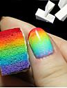 8st nya kvinna salong spik svampar för akryl makeup manikyr nail art tillbehör