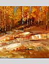 abstrakt stil Tältduk oljemålningar med sträckt ram redo att hänga size70 * 70cm