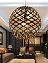 12W Lampe suspendue ,  Retro Autres Fonctionnalite for LED Bois/BambouSalle de sejour / Chambre a coucher / Salle a manger /