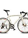 Velo Route Cyclisme 14 Vitesse 26 pouces/700CC 60mm Femme Aux femmes Unisexe Adulte SHIMANO TX30 Frein a Double Disque OrdinaireMono