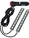 exled 10w 12v voiture 18 LED lumiere decorative eclairage interieur blanc froid