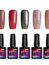 Modelones 5Pcs Gelpolish Nail UV Gel Polish Soak Off Varnish Manicure Tool Nail Art Salon C112