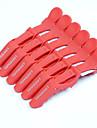 croc plastique neitsi non clips glissement cheveux clips style de salon 6pcs / Pack