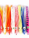 """10 st Mjukt bete Octopus mjuka Jerkbaits Slumpmässig färg 7 g/1/4 Uns,12/14/18 mm/4-3/4"""" tum,Mjuk plastSjöfiske Kastfiske Spinnfiske"""