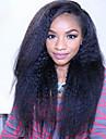 """brasilianska jungfru håret fullt spetsar peruker människohår peruker för svarta kvinnor 8 """"-30"""" Yaki rakt spets front peruk"""