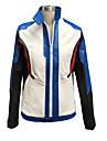 קיבל השראה מ Overwatch Sice וִידֵאוֹ מִשְׂחָק תחפושות קוספליי חליפות קוספליי גיאומטרי לבן שרוולים ארוכים מעיל / כפפות