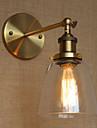 Ministil Vägglampetter,Traditionell/Klassisk E26/E27 Metall