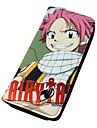 Sac / Portefeuilles Inspire par Fairy Tail Natsu Dragneel Anime Accessoires de Cosplay Portefeuille Rouge Cuir PU Masculin / Feminin
