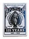cykel poker card magiska rekvisita brädspelet kort blå (1 par)