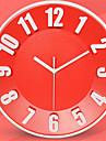 Rond Moderne/Contemporain Horloge murale,Autres Plastique 30.5*30.5*3.0