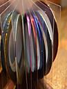1pcs 1mm 20m ongles ligne de bande art de bande autocollant nail art beaute decoration outils nc124 de livraison aleatoire