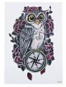 Series animales Multicolore Papier approvisionnement de tatouage article complet Pochoir Tatouage
