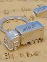 Aliaj Zinc Favoruri Keychain-1 Piece / Set Brelocuri Temă Asiatică Personalizat Argintiu