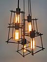 Max 60W Vintage Style mini Peintures Metal Lampe suspendueSalle de sejour / Chambre a coucher / Salle a manger / Bureau/Bureau de maison