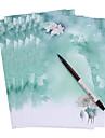 petit vent frais chinois (un ensemble de 8 morceaux de papier antique, motif aleatoire)
