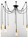 60 Hängande lampor ,  Vintage Mässing Särdrag for Ministil MetallVardagsrum Sovrum Dining Room Skaka pennan och tryck på spetsen innan du