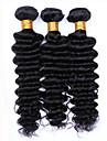 7a brasilianska vinkar djupt jungfru hår 100% obearbetade brasilianska djupt lockigt jungfru hår snabbt de sände 3st / lot