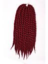 #2 / n ° 4 / #27 / #30 / Gris / Bleu / Violet / #1B / #1 La Havane Tresses Twist Extensions de cheveux 12 14 16 18 20 22 24 Kanekalon 12