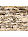 effet moderne en cuir shinny grand papier mural art brique 3d papier peint decoration murale