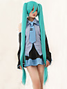 de haute qualite vocaloid miku Hatsune 2 queues de cheval perruque cosplay