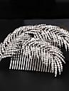 Women\'s Rhinestone / Alloy Headpiece-Wedding / Special Occasion Hair Combs 1 Piece