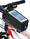 ROSWHEEL® Cykelväska 1.5LVäska till cykelramen Vattentät / Vattentät dragkedja / Stötsäker / Bärbar Cykelväska Mesh / Terylene