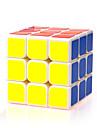Yongjun® Cube de vitesse lisse 3*3*3 Vitesse Cubes magiques Blanc ABS