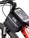 cykel~~POS=TRUNCVäska till cykelramen / Vätskepaket och väska Telefon/Iphone Cykelväska Terylene / 600D Polyester PyöräilylaukkuIphone