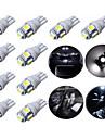 10pcs t10 5SMD 5050 voiture LED Auto lampe ampoules 12v 1s au xenon