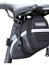 Sac de VeloSacoche de Selle de Velo Bande reflechissante Vestimentaire Compact Sac de Cyclisme Cuir PU PVC Polyester 600D Sacoche de Velo