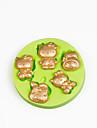 mögel silikon choklad mögel Polymer Clay godis sugarcraft fondant tårta dekorationer
