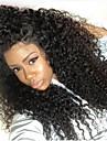 densite de 150% crepus couleur naturelle des cheveux noirs perruque dentelle synthetique devant perruques frisees de haute qualite pour
