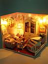 1st diy hus tjock älskar kreativa gåvor födelsedagspresent pedagogiska leksaker lampor LED-lampa
