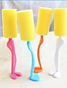 enkel användning kök svamp kopp penselverktyg plast / svamp (slumpvis färg)
