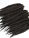 Brun / #1B / 99j havana twist Flätor Hårförlängningar 22-24inch Kanekalon 2 Strå 80g/pcs gram Hair Braids