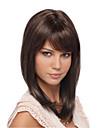 Clip naturel dans le bangs synthetique frange de cheveux pour les femmes