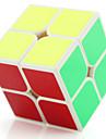 Yongjun® Mjuk hastighetskub 2*2*2 Lysrör Hastighet professionell nivå Magiska kuber Svart Blekna Ivory Plast