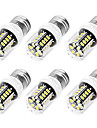 3W E14 / E26/E27 LED-lampa T 30 SMD 5733 250 lm Varmvit / Kallvit Dekorativ AC 220-240 V 6 st