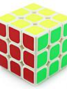 Yongjun® Cube de vitesse lisse 3*3*3 Vitesse / Niveau professionnel Cubes magiques Blanc / Noir Plastique
